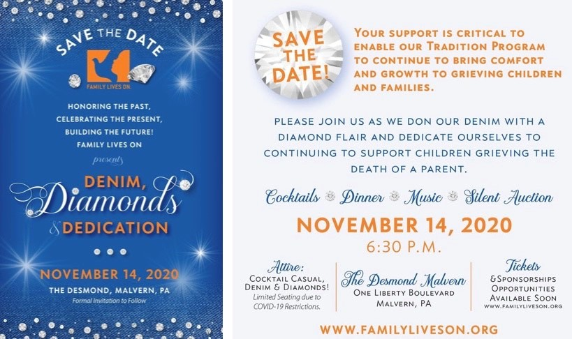 Family Lives On to Host Annual Traditions Ball on Nov. 14 to Support Children Grieving Death of a Parent