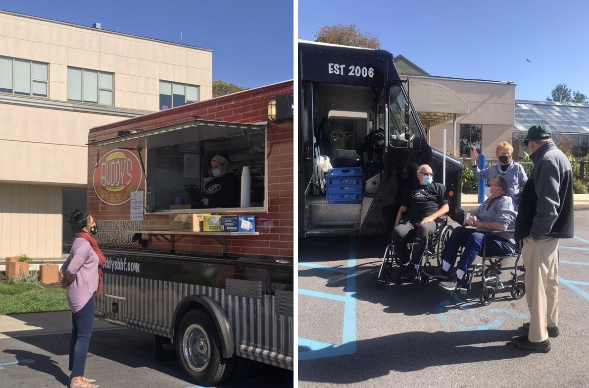 Coatesville Native, Co-Owner of Buddy's Burgers Provides Free Lunch to Thank Staff of Bryn Mawr Rehab