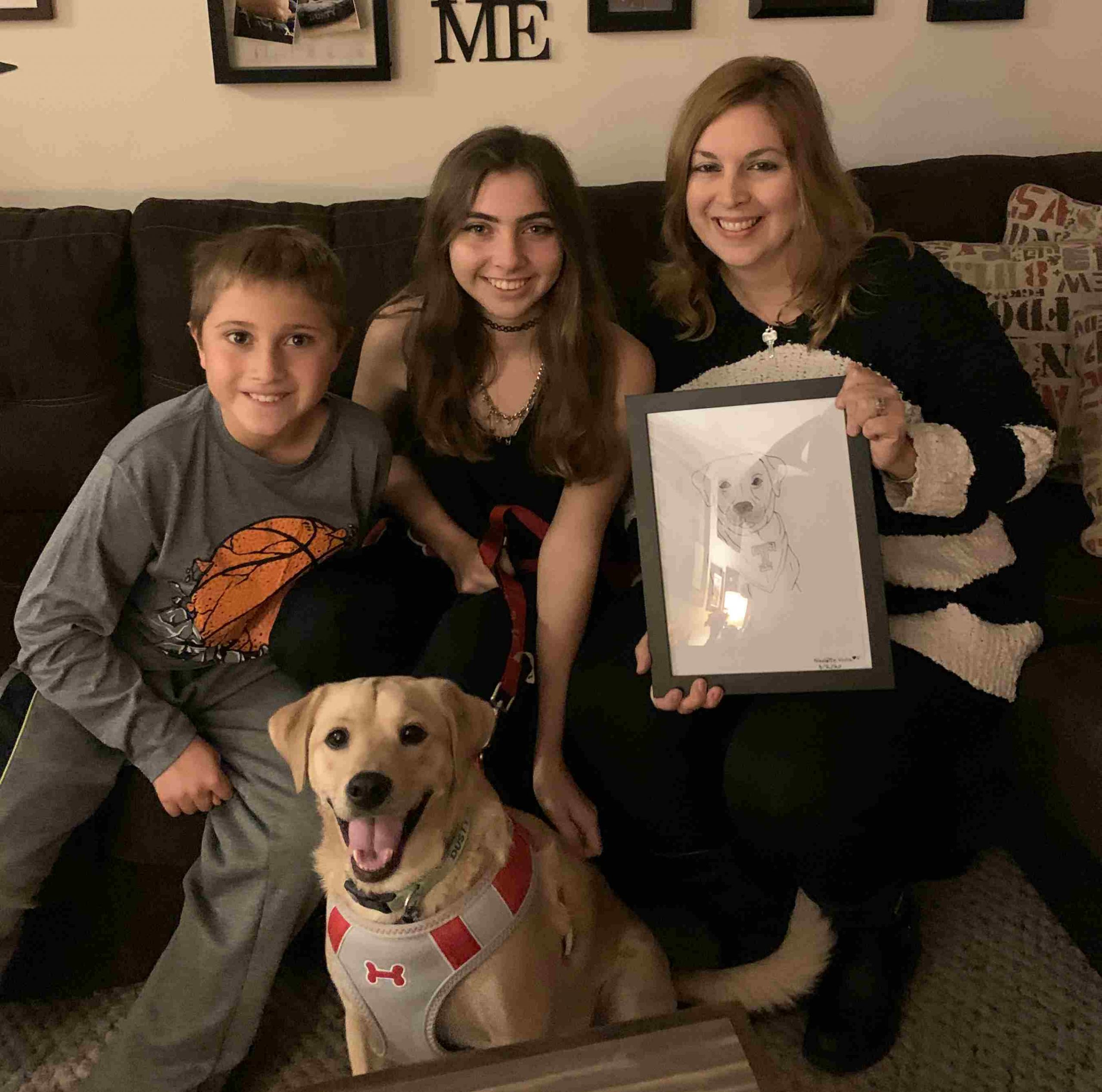 Local Teen Creates Coloring Book Based on the Family Dog to Encourage Younger Brother to Wear a Mask