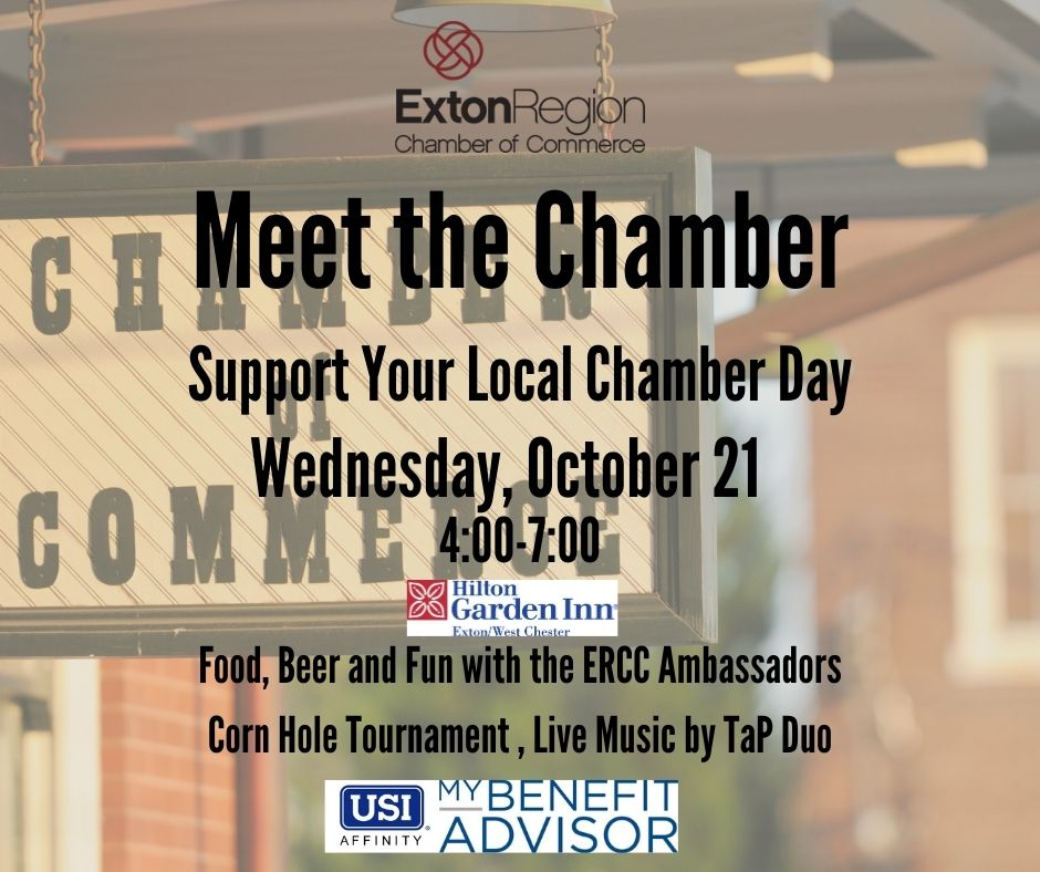 Meet ERCC at 'Support Your Local Chamber of Commerce Day' on Oct. 21