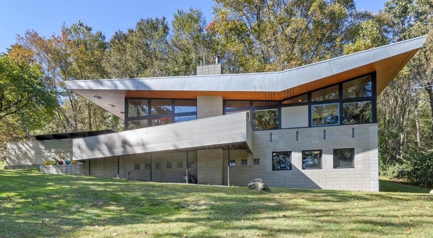 Frank Lloyd Wright in Chester County? Check Out This House That Just Hit the Market