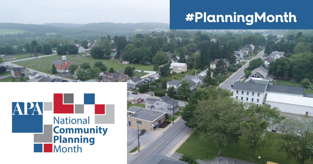 County Recognizes National Community Planning Month, Importance of Planning Along Road to Economic Recovery
