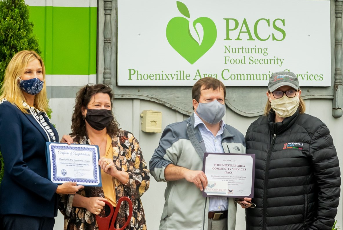 A Model for Community Feeding Community, PACS Finds New Home