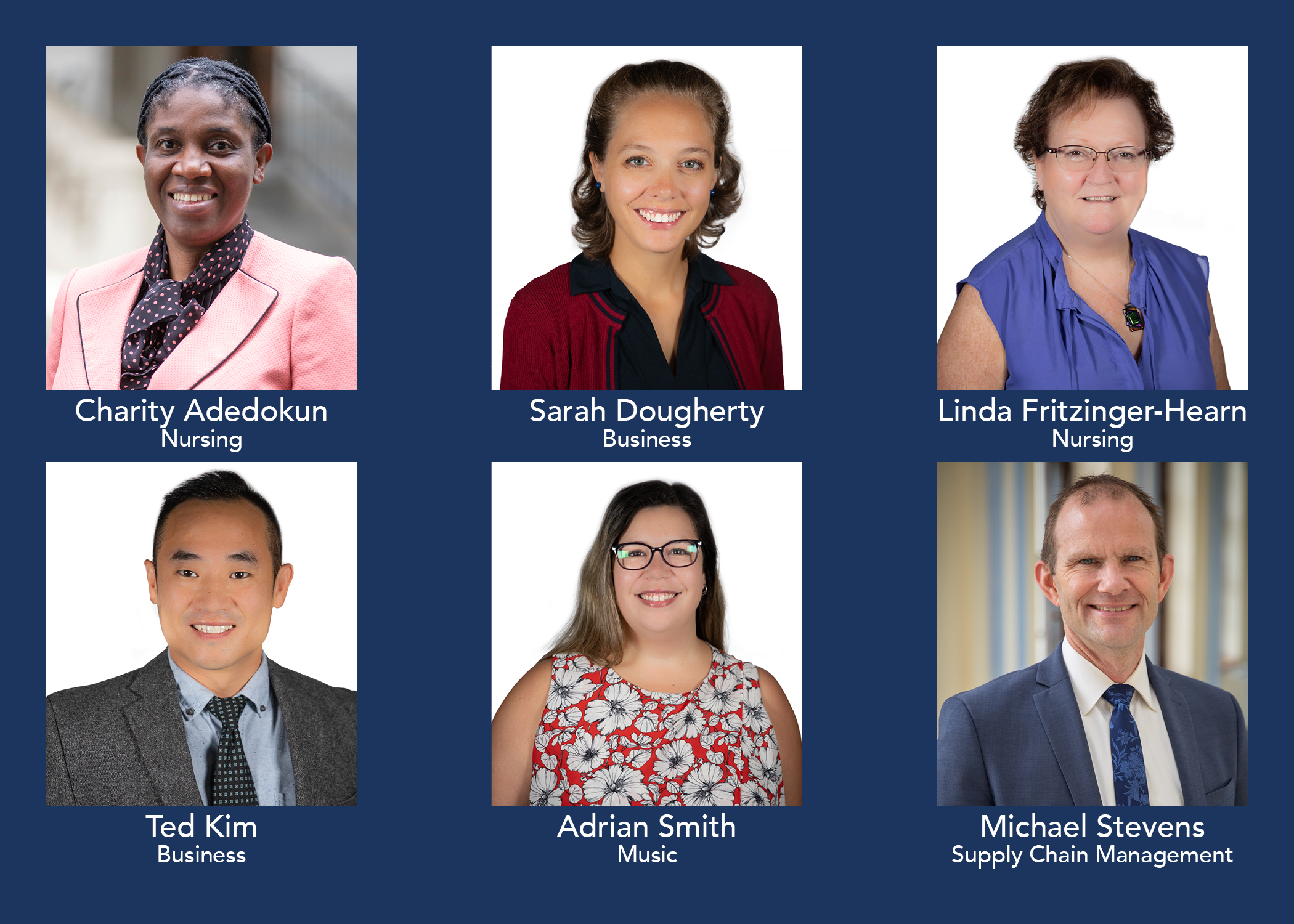 Six of Immaculata's Newest Faculty Members Are Chester County Residents