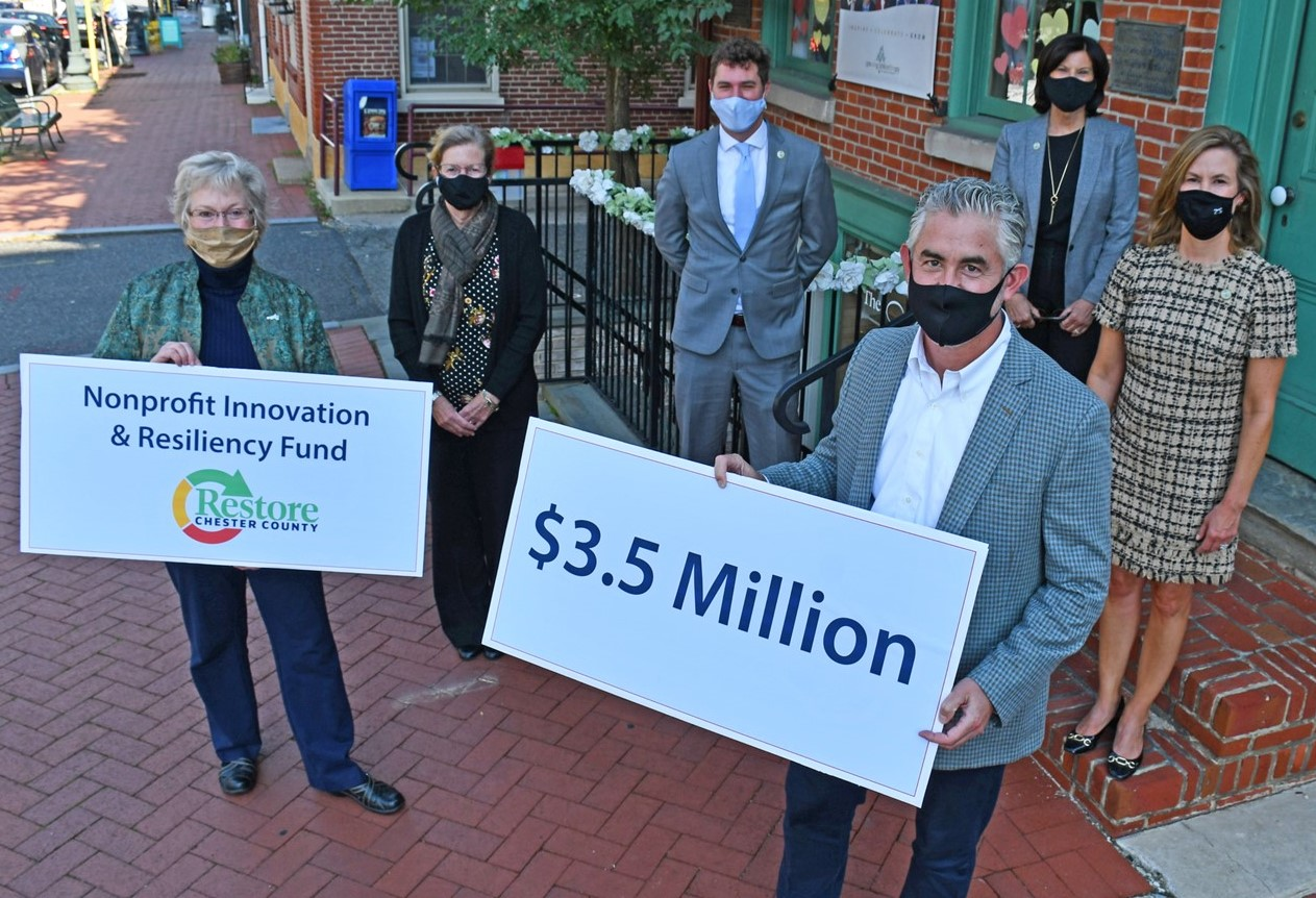 $3.5 Million in COVID-19 Grants Now Available for Resilient, Innovative Nonprofits in Chester County