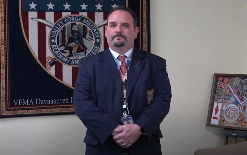Dean of Valley Forge Military Academy Shares Some of His Experiences at the Forge