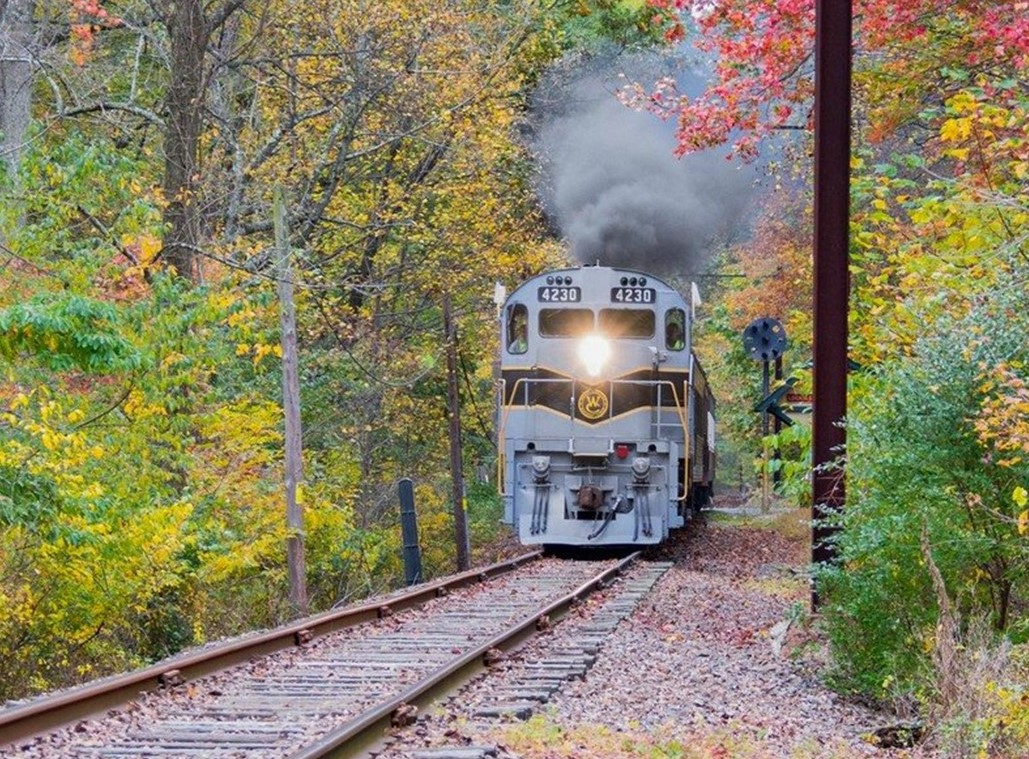 Historic West Chester Railroad Offers One of Pennsylvania's Most Scenic Fall Train Rides