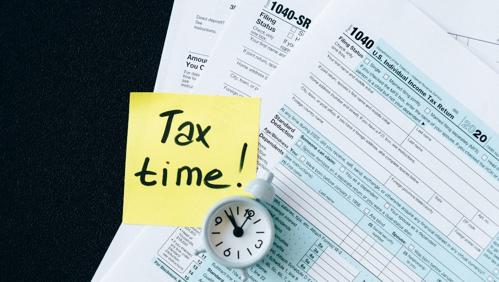 Tax Time with IRS Form
