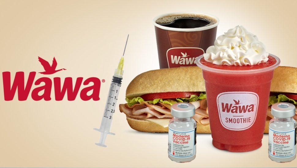 Wawa administering COVID-19 vaccines