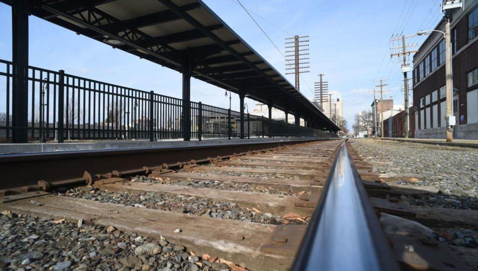 montco rail line KOP