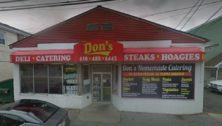 The exterior of Don's Deli in Boothwyn, a filming location for Mare of Easttown