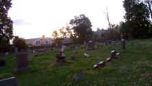 historic cemetery in Wayne