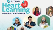 citadel heart of learning award