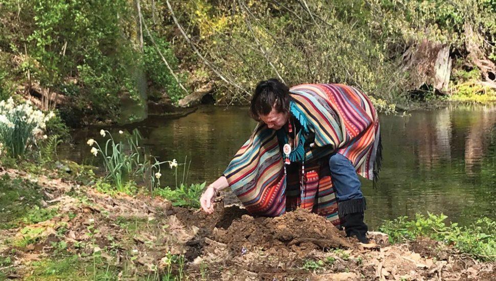 Tree Planting at Aquetong Spring Park, Bucks County