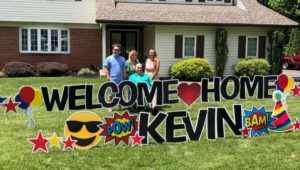 Kevin Culbertson, East Goshen, COVID-19 patient family reunion