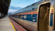 Amtrak's Northeast Regional train.