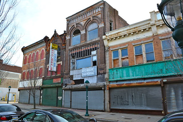 Abandoned Storefronts on Avenue of the States