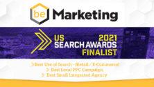 beMarketing shortlisted for awards