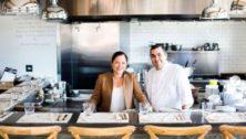 Christine and Nick Kondra, owners of Wayne's Cornerstone Bistro