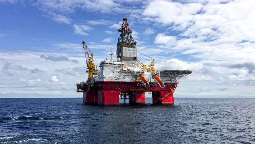 Deep Sea Oil Platform