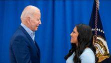 Coatesville's Mitzi Colon meets President Joe Biden to discuss student immigration status.