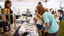 outdoor craft fair