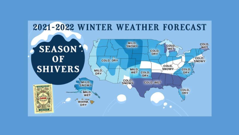 Old Farmer's Almanac Winter 2022 Prediction
