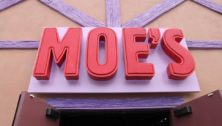 The sign for Moe's Tavern from 'The Simpsons'