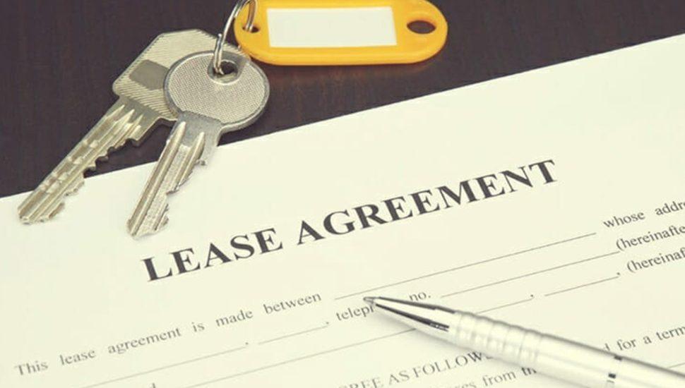 apartment lease house keys