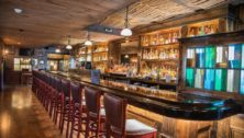 The 15-seat bar at the Shebeen Irish Pub at Media's former Towne House.