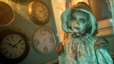 One of the residents at this year's Bates Motel Haunted Attraction.