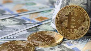 Bitcoin and $100 Bill