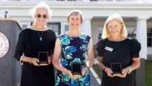 women receiving awards