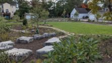 The new Heritage Park in Media Borough.