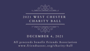 Advertisement for the 2021 West Chester Charity Ball